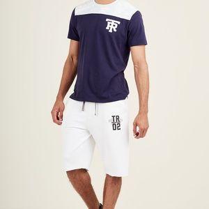 e42ae7f38 True Religion Original TR Active White Grey Short
